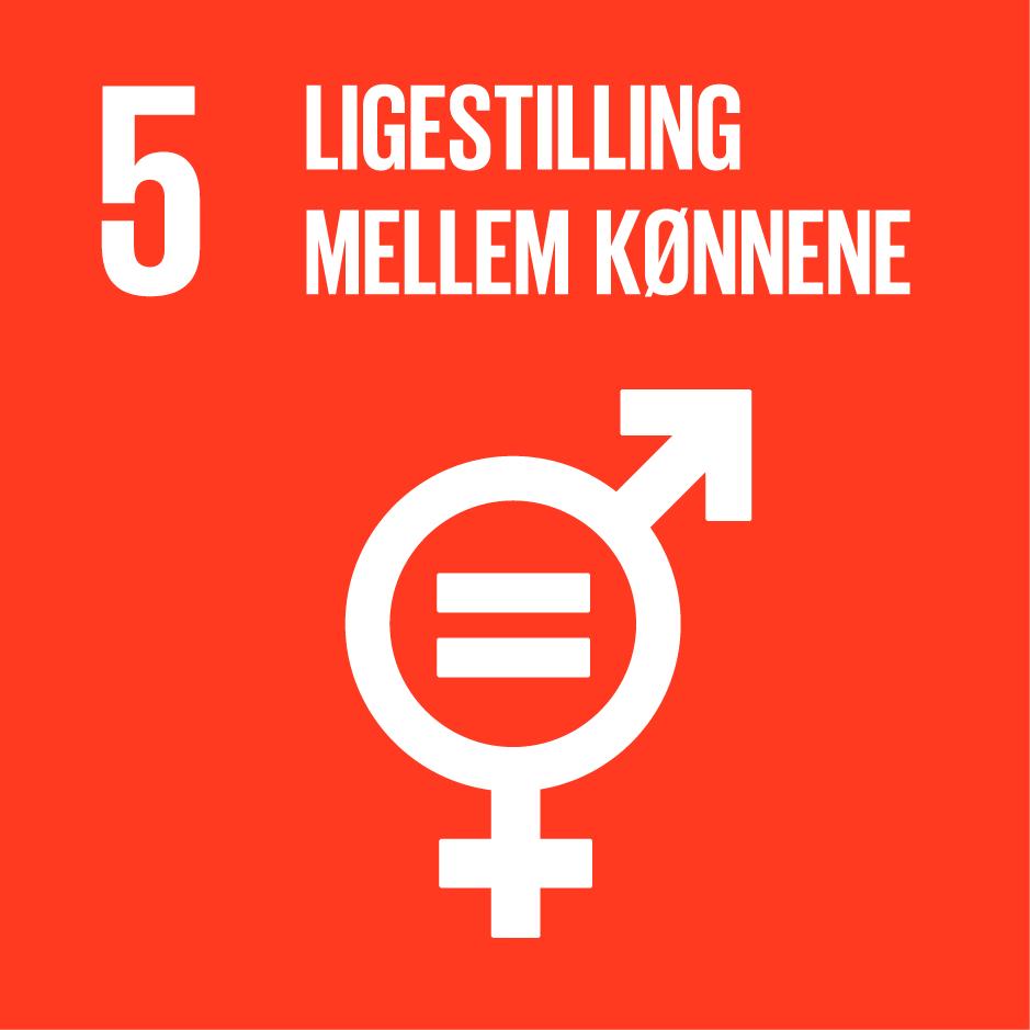 Verdensmål 5: Ligestilling mellem kønnene