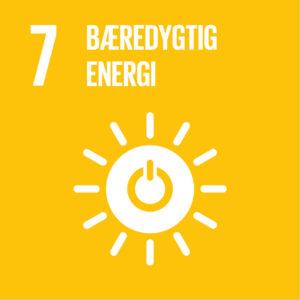 Verdensmål 7: Bæredygtig energi
