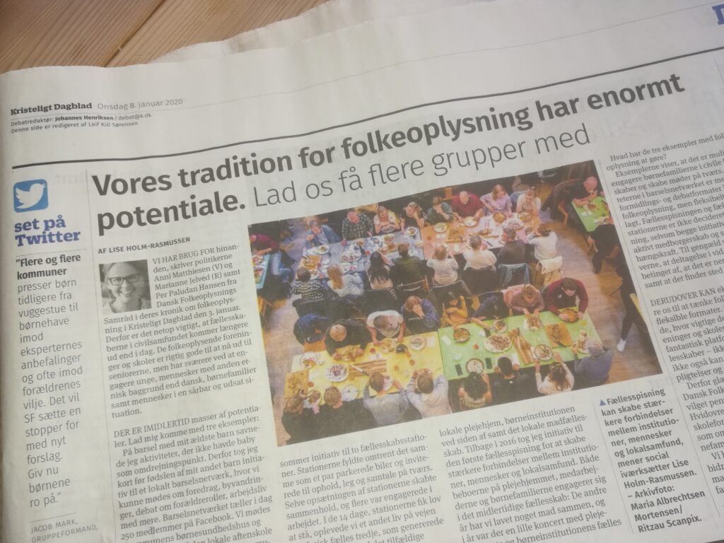 Indlæg i Kristeligt Dagblad